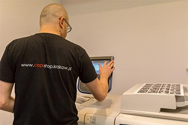 drukowanie naklejek
